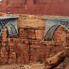Navajo Bridge(s) by Terence Russell