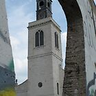 12th Century Church Rebuilt in Fulton, MO -Through Berlin Wall by Sherry Hunt