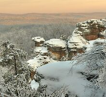 Garden of the Gods Ice by David Allen