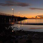 Sandgate Pier by Werner Langer