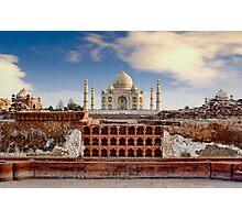 Taj Mahal (Monument of Love), Agra, India Photographic Print