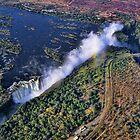 Victoria Falls,  Africa (Zambia-Zimbabwe) by Scootarts