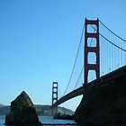 Golden Gate Silhouette by Kassey Ankers