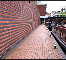 Brindley Place Moorings by Jazzdenski