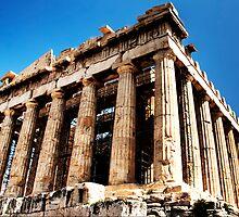 Parthenon-Acropolis of Athens by zanskou