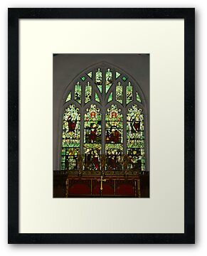 Window #1 St Peter's Church  by Trevor Kersley