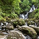 Torc Waterfall, Killarney National Park, Ireland by Bob Culshaw