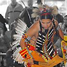 Young Dancer (Pow Wow Series) by Dyle Warren