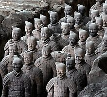 Terra-Cotta Warriors  by Douglas M. Paine