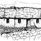 Old homestead, Connemara, Eire by hyde66art