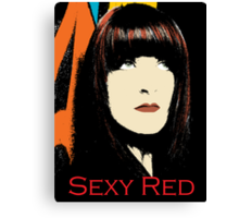 Red is Sexy Canvas Print