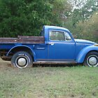Ole Blue Bug by RedJeans777
