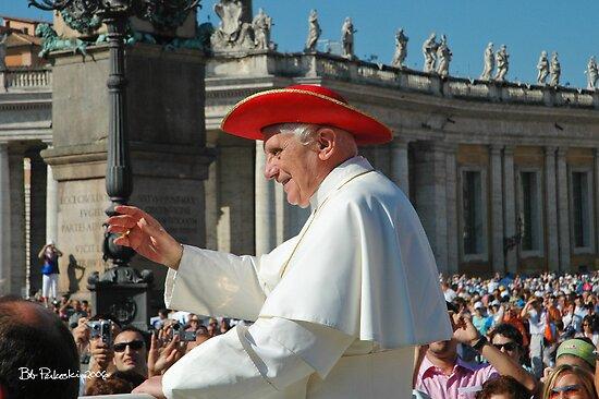 Pope Benedict XVI by Bob  Perkoski