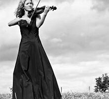 Nature Violin 02 by Jean M. Laffitau