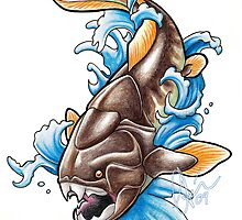 Dunkleosteus by Asia Wiseley
