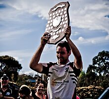Vice Captain Danny Ryan, Geelong Rams Victory by JAKShots-Sports