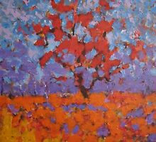 The Flame Tree by Richard  Tuvey