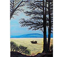 """Oil Painting - """"A View in San Francisco Bay Area"""", 2008 Photographic Print"""