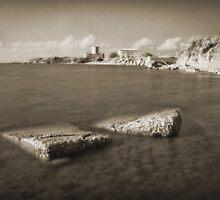 Astura Castle, Italy by Marco Scataglini