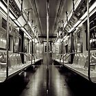 Ghost Train At Times Square by Paul Wilkin