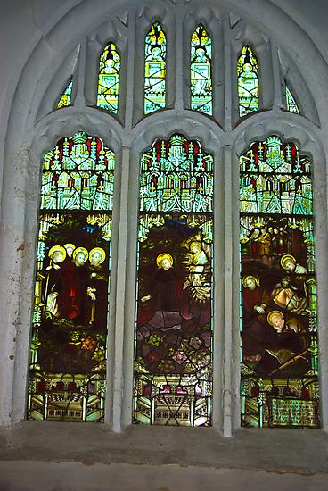Window #3  St Peter's Church by Trevor Kersley