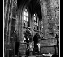 Chester Cathedral Interior IX by Emma Wright
