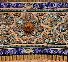 SEVILLA - The Alcazar - Interior arches - A detail by Daniela Cifarelli