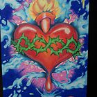 sacred heart by roachy22