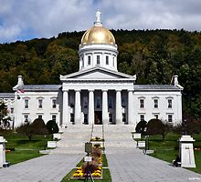 State Capital of Vermont by Wanda-Lynn