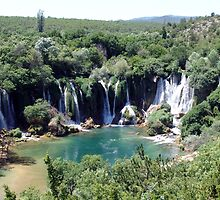 Kravice Waterfall 1 by Nedim Bosnic