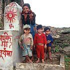 Nepal valley happy kids by Eyewise