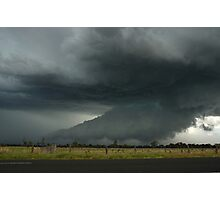Severe Hailstorm near Lismore Photographic Print