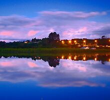 Wairoa River at night 13 by Paul Mercer