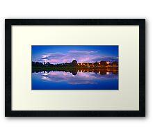 Wairoa River at night 13 Framed Print