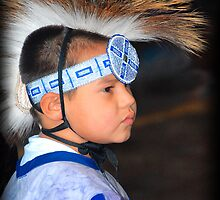 Young Observer   (Pow Wow Series) by Dyle Warren
