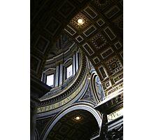 St Peter's Basilica, Rome Photographic Print