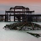 The West Pier Brighton - HDR by Colin  Williams Photography