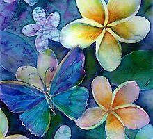 Frangipanis dream by Karin Zeller