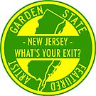 """""""New Jersey - What's Your Exit?"""" Featured Artist Image by Fitcharoo"""