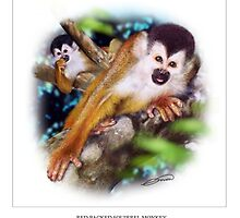 RED-BACKED SQUIRREL MONKEY 2 by DilettantO
