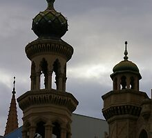 Minaret At Dusk by David McMahon