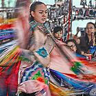 Fancy Shawl  Dance (Pow Wow Series) by Dyle Warren