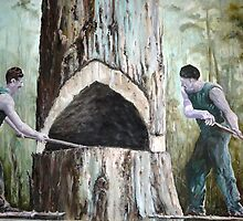 The Woodsmen by Diko