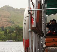 Ullswater split screen by Darren Kearney