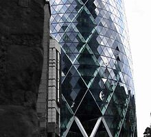 30 St Mary Axe (The Gherkin) by Paul James Farr