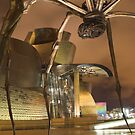 spider by night, Guggenheim Museum , Bilbao by Christopher Barton