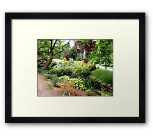 Halifax Public Gardens Framed Print