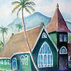 Green Church Kauai by Mike  Segura