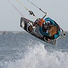 Sam Light Kitesurfer by Nigel Kenny