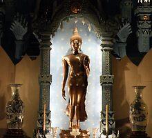 buddha image at erawan museum by peaka3